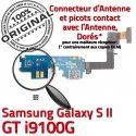 Samsung Galaxy S2 GT i9100G C Chargeur RESEAU Antenne Nappe Connecteur Qualité Charge Microphone Prise OFFICIELLE ORIGINAL MicroUSB