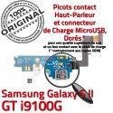 Samsung Galaxy S2 GT i9100G C MicroUSB Qualité Prise Chargeur Nappe Connecteur Antenne Microphone OFFICIELLE ORIGINAL RESEAU Charge