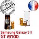 Samsung Galaxy S2 GT i9100 P Connecteur Arrêt Circuit Dorés Nappe Contacts Switch Bouton OR Pins S Connector 2 Marche souder SLOT ORIGINAL à