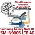Samsung Galaxy NOTE3 SM N9005 C Microphone Qualité Connecteur Charge MicroUSB RESEAU Chargeur ORIGINAL LTE OFFICIELLE Nappe Antenne