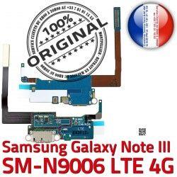 NOTE3 Charge OFFICIELLE Galaxy RESEAU Connecteur Nappe N9006 SM Microphone ORIGINAL C MicroUSB Chargeur Antenne Qualité LTE Samsung