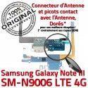 Samsung Galaxy NOTE3 SM N9006 C RESEAU Chargeur LTE Nappe OFFICIELLE ORIGINAL MicroUSB Charge Connecteur Antenne Qualité Microphone
