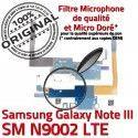 Samsung Galaxy NOTE3 SM N9002 C Microphone ORIGINAL Charge LTE Nappe Chargeur OFFICIELLE Qualité Antenne Connecteur MicroUSB RESEAU