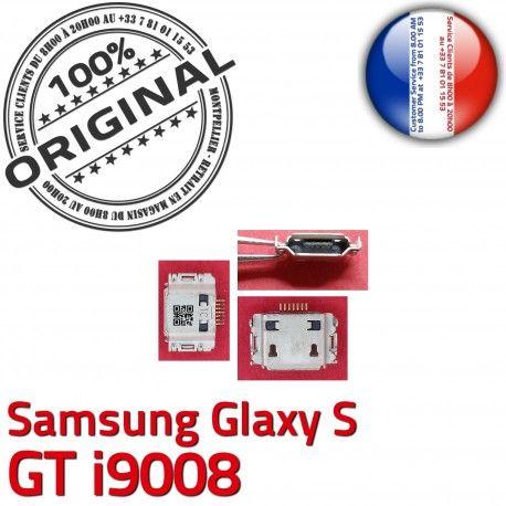 Samsung Galaxy S GT i9008 C charge Dorés Chargeur Pins Connector à Flex Connecteur Dock de USB Micro ORIGINAL Prise souder