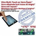 PACK A1458 Joint Nappe N Réparation Plastique Contour Bouton Apple KIT Tactile Verre Noire Cadre Tablette Adhésif Vitre iPad4 HOME Precollé