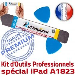 iSesamo Tactile PRO Outils A1823 Professionnelle Démontage KIT Remplacement Vitre iPad Ecran Qualité 9.7 Compatible inch 2017 iLAME Réparation