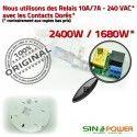Éclairage Automatique SINOPower de Passage Basse Consommation Personne HF Alarme Présence Détection Radar Lampe Interrupteur Détecteur